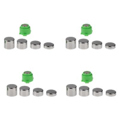 20pcs Full Set Replacement ThumbStick Metal Button For PS4 Series Controller