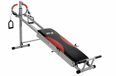 Multi gym banc d'entrainement Total exercicer Christopeit TE 1 pliable - NEUF