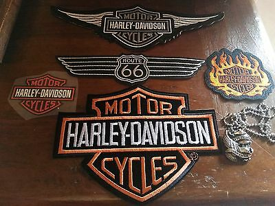 Toppe Patch termoadesive Harley Davidson