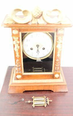 Mercury Pendulum Mantle Clock - For Parts Or Spares