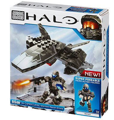 Mega Bloks Halo Unsc Wombat Recon Drone Brand New In Box Cyy43