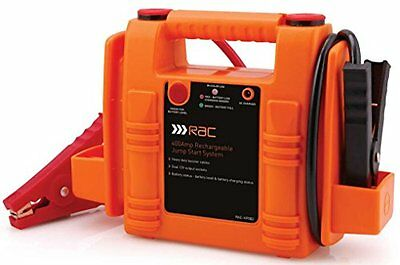 RAC Jump Starter Battery Booster - Heavy Duty 400 Amp Rechargeable - Used