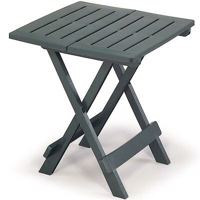Small Garden Table Outdoor Patio Bistro Folding Plastic Side Coffee Table Modern