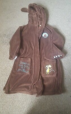 Marks&spencers gruffalo dressing gown. Age 5-6