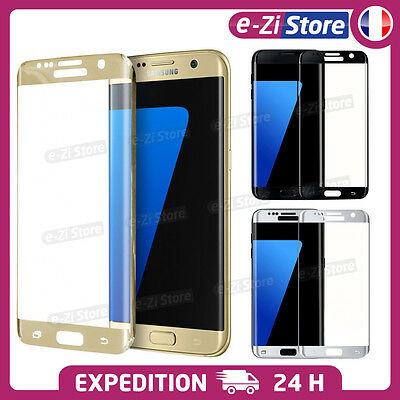 Film Glass Toughened Screen Protector Total 3D Curved Samsung Galaxy S7 Edge