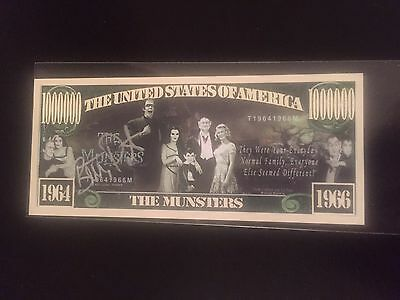 """The Munsters """"Million"""" Dollars autographed by Butch Patrick """"Eddie Munster"""""""