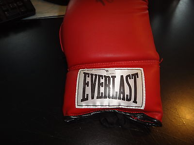 Boxing Glove everlast Muhammad Ali aka Cassius Clay with COA signed nice ++