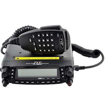 TYT TH-9800 800CH HF/VHF/UHF LCD Dual Display Auto LKW Mobile Radio Transceiver