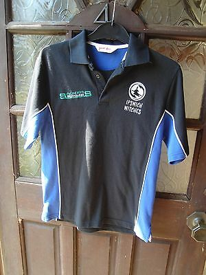 ipswich witches speedway polo shirt adults xs