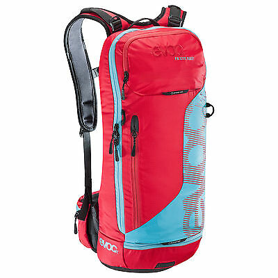 Evoc FR Lite Race 10L(SMALL) Backpack RED/NEON BLUE
