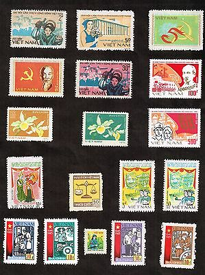 Vietnam, Cinderella type Stamps lot, mnh,