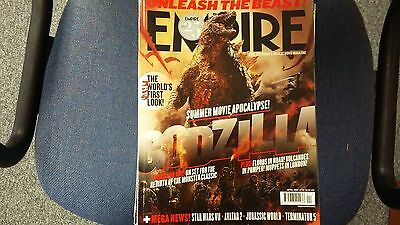 Empire Magazine April 2014 Godzilla Star Wars Avatar