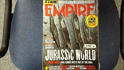 Empire Magazine June 2015 Jurassic World Mad Max Tomorrowland Liam Neeson