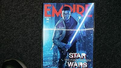 Empire Magazine January 2016 Star Wars Holographic Cover 3 of 6 Finn