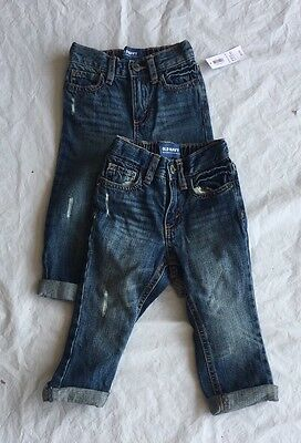 old navy toddler boys jeans size 18-24 months new with tags 2 pieces $23