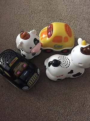 vtech toot toot Taxi, Car And Cows