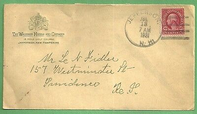 1931 Advertising Cover THE WAUMBEK HOTELS & COTTAGES Jefferson New Hampshire