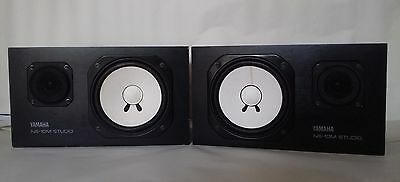 "Pair of Yamaha ""NS10m Studio"" original vintage studio speakers"