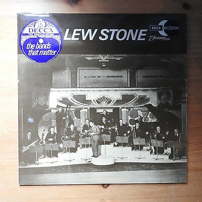 Lew Stone - The Bands That Matter LP vinyl (1970) Ex/Ex