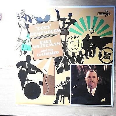 Paul Whiteman & His Orchestra - 'Pops' Remembers LP vinyl (1970) VG+/Ex