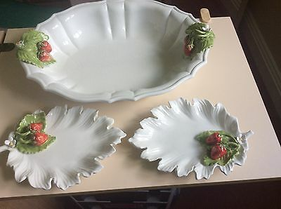 Trio Of Strawberry Dishes