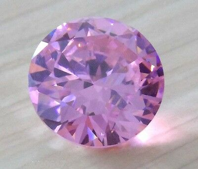 13mm AAAAA Pink Sapphire Round Shape Faceted Cut 14.05ct VVS Loose Gemstone