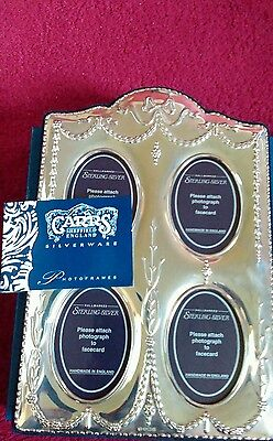 Carrs of Sheffield Sterling Silver Photo Frame 4x4