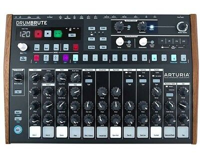 Arturia Drumbrute Analog Analogue Drum Machine Synthesizer Sequencer