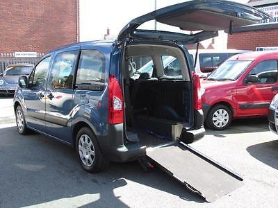 Peugeot partner tepee, wheelchair adapted car, disabled access, WAV, mobility