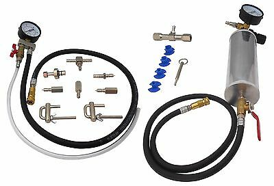 Injector Cleaner Buoy with Pressure Gauge and Adapters