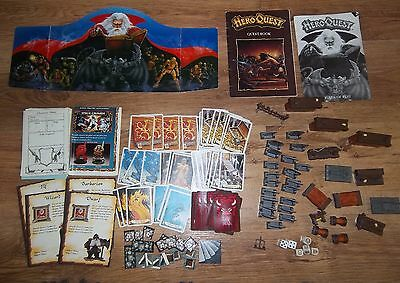 Hero Quest 1989 Mb Games  ,,games Workshop,, High Adventure In A World Of Magic