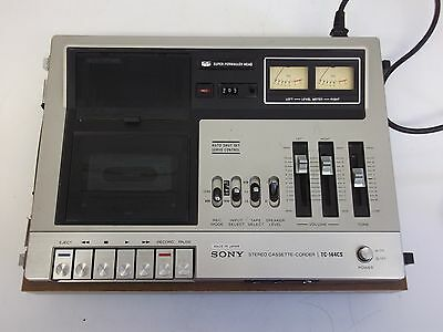 Vintage Sony Tc-144Cs Tape Cassette Recorder - Made In Japan