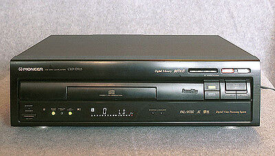 Pioneer CLD-925 Laserdisc Player - Top of the range, PAL NTSC DIGITAL ANALOG