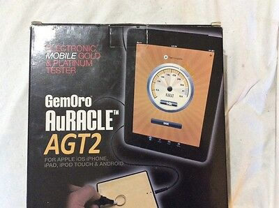 GemOro Auracle mobile gold tester for Android