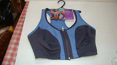 M & S Ladies Sports Bra 36 DD Fitness Top Extra High Impact RP £22 BNWT
