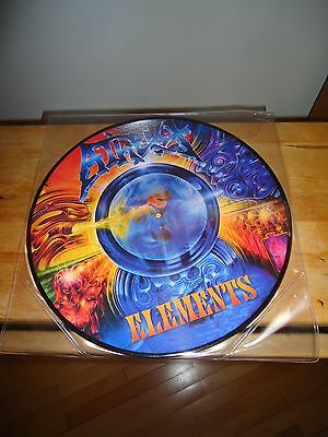 """Atheist """"Elements"""" LP PICTURE RELAPSE USA 2008"""
