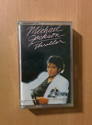 Michael Jackson - Thriller - CASSETTA TAPE  RARE SEALED