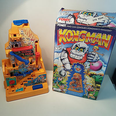 Tomy Kongman Game Rare Vintage 1980's Boxed Electronic Game