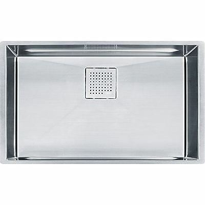 Franke PKX11028 Peak 16-Inch x 27-Inch Single Bowl Undermount Kitchen Sink by Fr