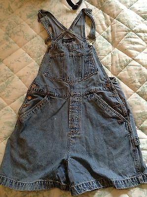 Denim 90s Shorts Dungarees Size 8 10