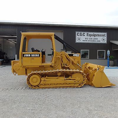 1997 Dozer John Deere 455G track loader WINCH! One Owner Good shape! LOW HOURS!