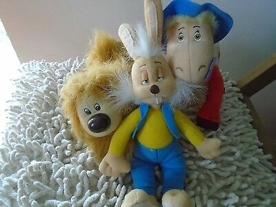 Magic Roundabout Plush Toys x 3