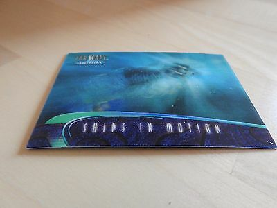 "Farscape ""In Motion"" Ships of Farscape S8 Transport Pod Lenticular card"