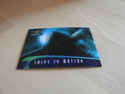 "Farscape ""In Motion"" Ships of Farscape S6 Farscape One Lenticular card"