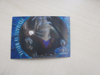 "Farscape ""In Motion"" Portraits in Motion P6 Rygel Lenticular card"