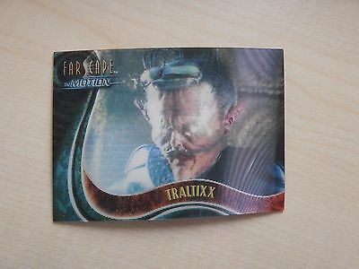 "Farscape ""In Motion"" The Good, The Bad & The Ugly U16 Traltixx Lenticular card"