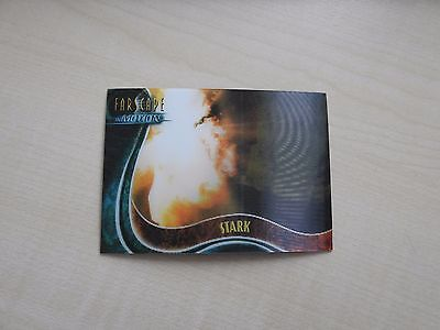 "Farscape ""In Motion"" The Good, The Bad & The Ugly U14 Stark Lenticular card"