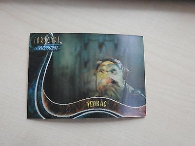 "Farscape ""In Motion"" The Good, The Bad & The Ugly U12 Teurac Lenticular card"