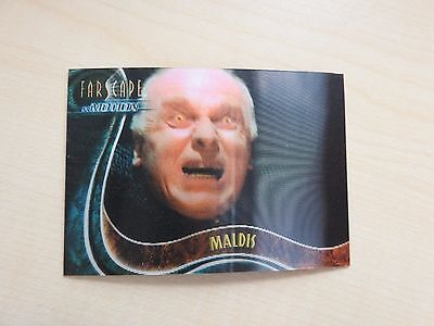 "Farscape ""In Motion"" The Good, The Bad & The Ugly U5 Maldis Lenticular card"