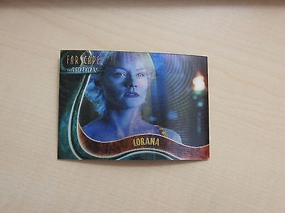 "Farscape ""In Motion"" The Good, The Bad & The Ugly U4 Lorana Lenticular card"